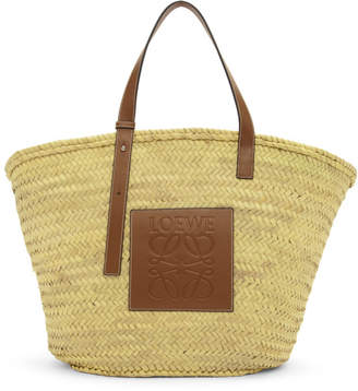 Loewe Beige and Tan Extra Large Basket Tote