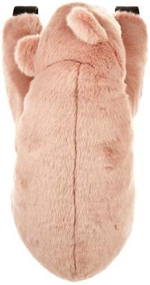 Dolce & Gabbana Faux Fur Bear Backpack