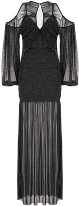 Alice McCall Spell cold-shoulder gown
