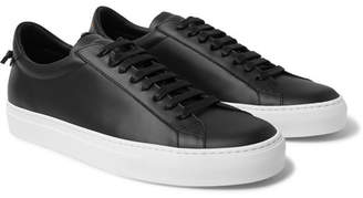 Givenchy Urban Street Leather Sneakers - Black