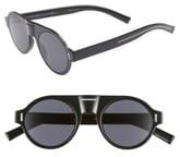 Christian Dior 47mm Round Sunglasses