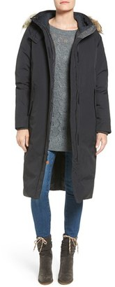 Women's Woolrich 'Patrol' Long Down Parka With Genuine Coyote Fur Trim $595 thestylecure.com