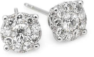 JCPenney FINE JEWELRY Brilliant Dream 3/4 CT. T.W. Round Diamond Studs 14K White Gold