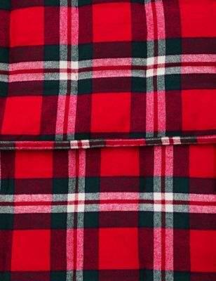 Marks and Spencer Vintage Check Quilted Brushed Bedspread