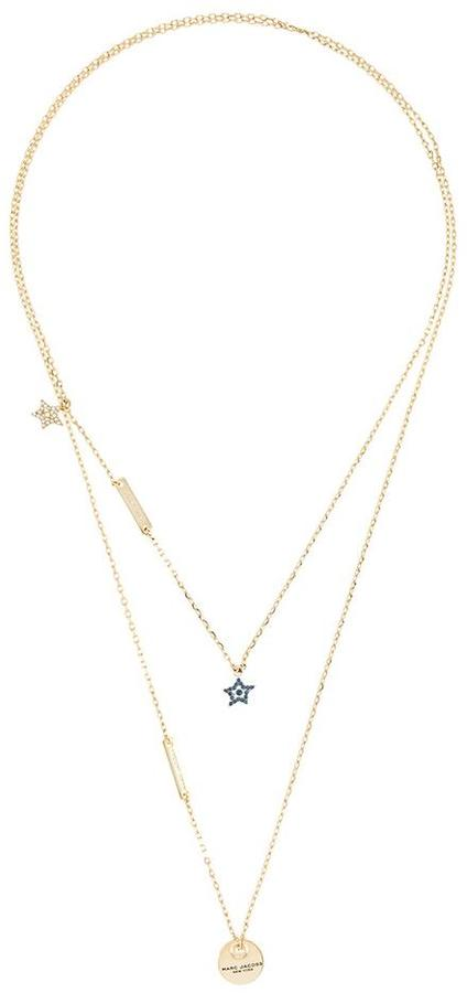 Marc JacobsMarc Jacobs layered charm necklace