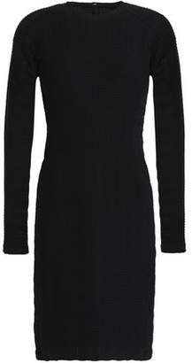 Rag & Bone Embossed Stretch-Jersey Mini Dress