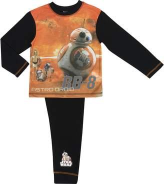Star Wars Cartoon Character Products The Last Jedi Boys Pyjamas - Age 4-10 Ye - BB8 4-5 Years/104-110 cms