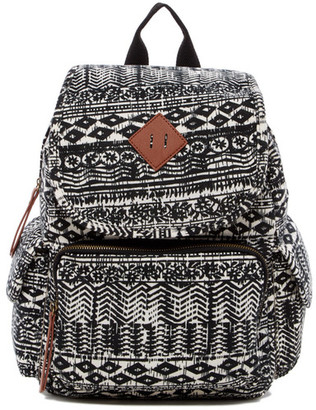 Madden Girl Jersey Aztec Print Backpack $54 thestylecure.com