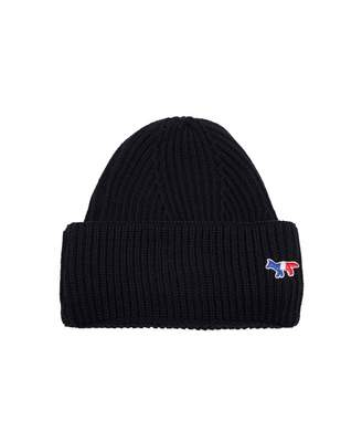 MAISON KITSUNÉ Ribbed Beanie Hat