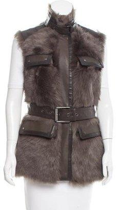 Belstaff Banbury Shearling Vest w/ Tags $995 thestylecure.com