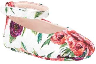 Dolce & Gabbana Floral Mary Jane Pumps