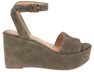 baeeb91c402 Green Chunky Platform Women s Sandals - ShopStyle