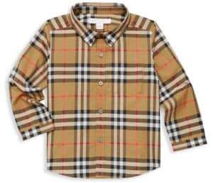 Burberry Baby Boy's& Little Boy's Fred Long-Sleeve Tartan Button-Down Shirt
