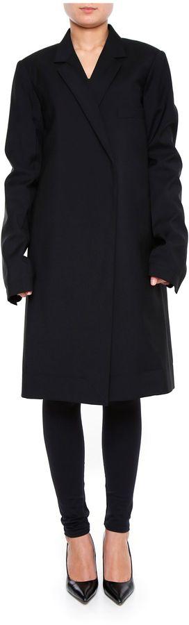 CelineCool Wool Coat