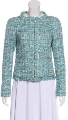 Chanel Silk-Blend Tweed Jacket