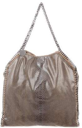 Stella McCartney Embossed Vegan Leather Falabella Tote