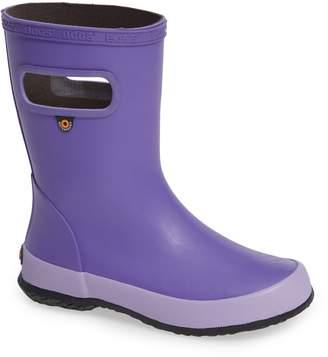 Bogs Skipper Solid Rubber Waterproof Rain Boot