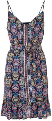 Seafolly Sun Temple Belted Dress