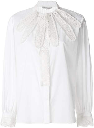 Tsumori Chisato embroidered fitted shirt