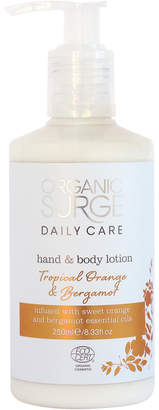 Tropical Orange and Bergamot Hand and Body Lotion (250ml)