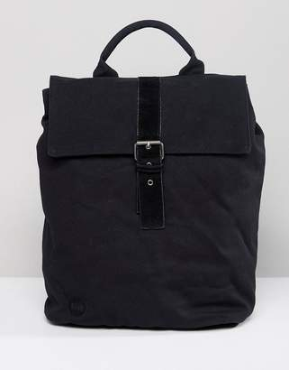 Mi-Pac Canvas Day Pack In Black