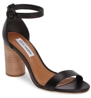 Women's Steve Madden Sara Column Heel Sandal $99.95 thestylecure.com