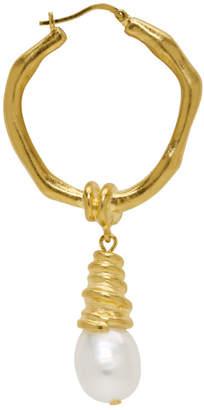 Acne Studios Gold Alix Earring
