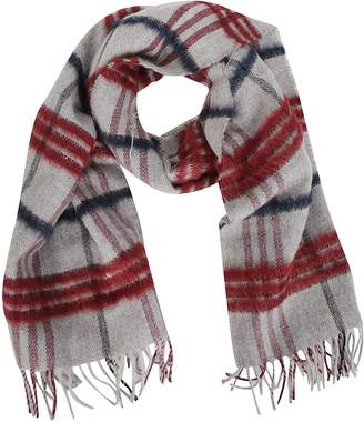 Fay Checked Scarf