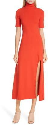 A.L.C. Caplan Slit Midi Dress