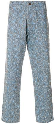 Telfar embroidered jeans
