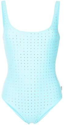 Moschino embellished swimsuit