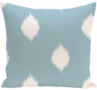 "Generic Simply Daisy 16"" x 16"" Hol-I-kat Decorative Holiday Ikat Print Pillow"