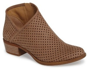 Women's Lucky Brand Breeza Perforated Bootie $99.95 thestylecure.com