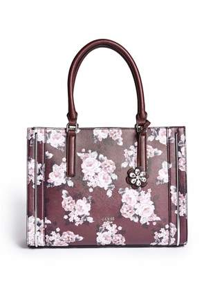 Factory GUESS Women's Redford Floral-Print Tote