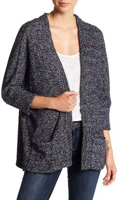 Cupcakes And Cashmere Gunnar 3/4 Sleeve Knit Cardigan