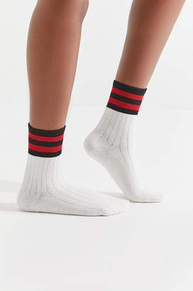 Out From Under Varsity Striped Sock