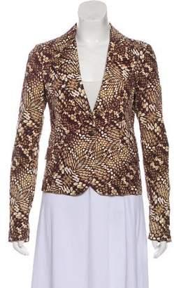 Just Cavalli Printed Long Sleeve Jacket