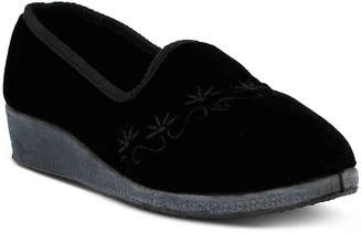 Spring Step Jolly Velvet Slipper - Women's