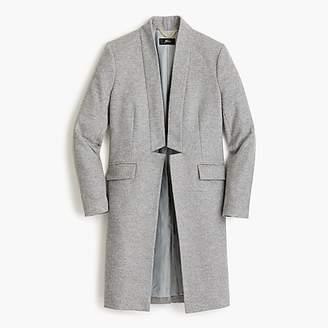 J.Crew Long wool-cashmere topcoat