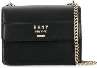 DKNY monogram chain-strap bag