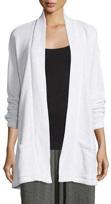 Eileen Fisher Twisted Organic Cotton Terry Kimono Cardigan $248 thestylecure.com