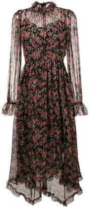 Dolce & Gabbana rose print maxi dress