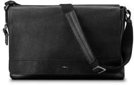 Shinola Canfield Leather Messenger Bag