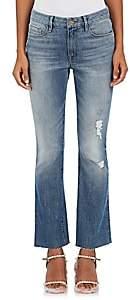 Frame Women's Le Mini Boot Distressed Jeans - Lt. Blue