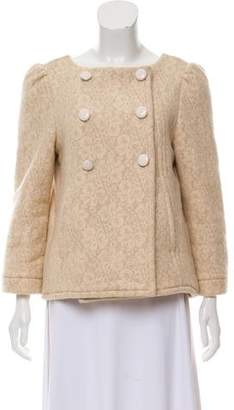Marc by Marc Jacobs Wool Lace Patterned Jacket