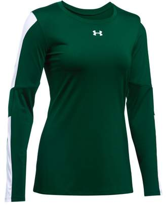 Under Armour Women's UA Block Party Long Sleeve Jersey