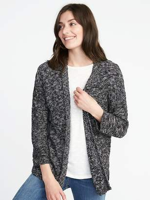 Old Navy Textured-Knit Open-Front Sweater for Women