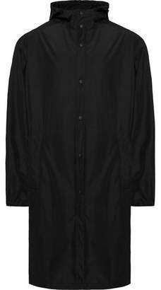 Helmut Lang Printed Shell Hooded Raincoat