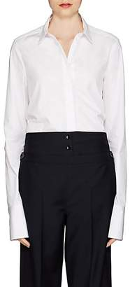 Jil Sander Women's Francesca Cotton Blouse - White