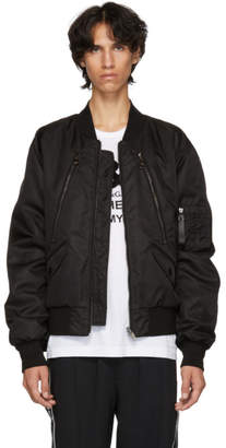 Dolce & Gabbana Reversible Black Bomber Jacket
